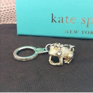 Kate Spade Frog Keychain